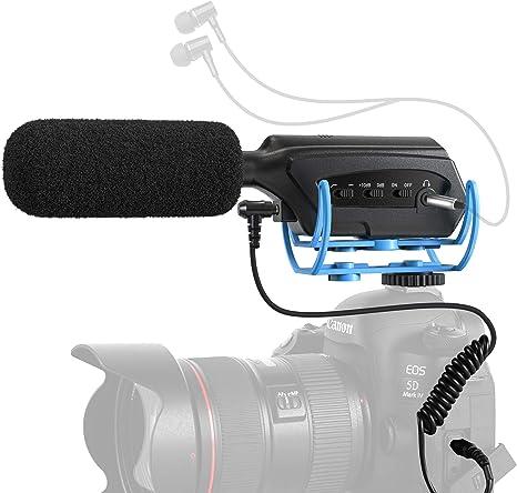 3.5mm Universal Mikrofon Externe Stereo Mikrofon für DSLR Kamera Dv Nützlich
