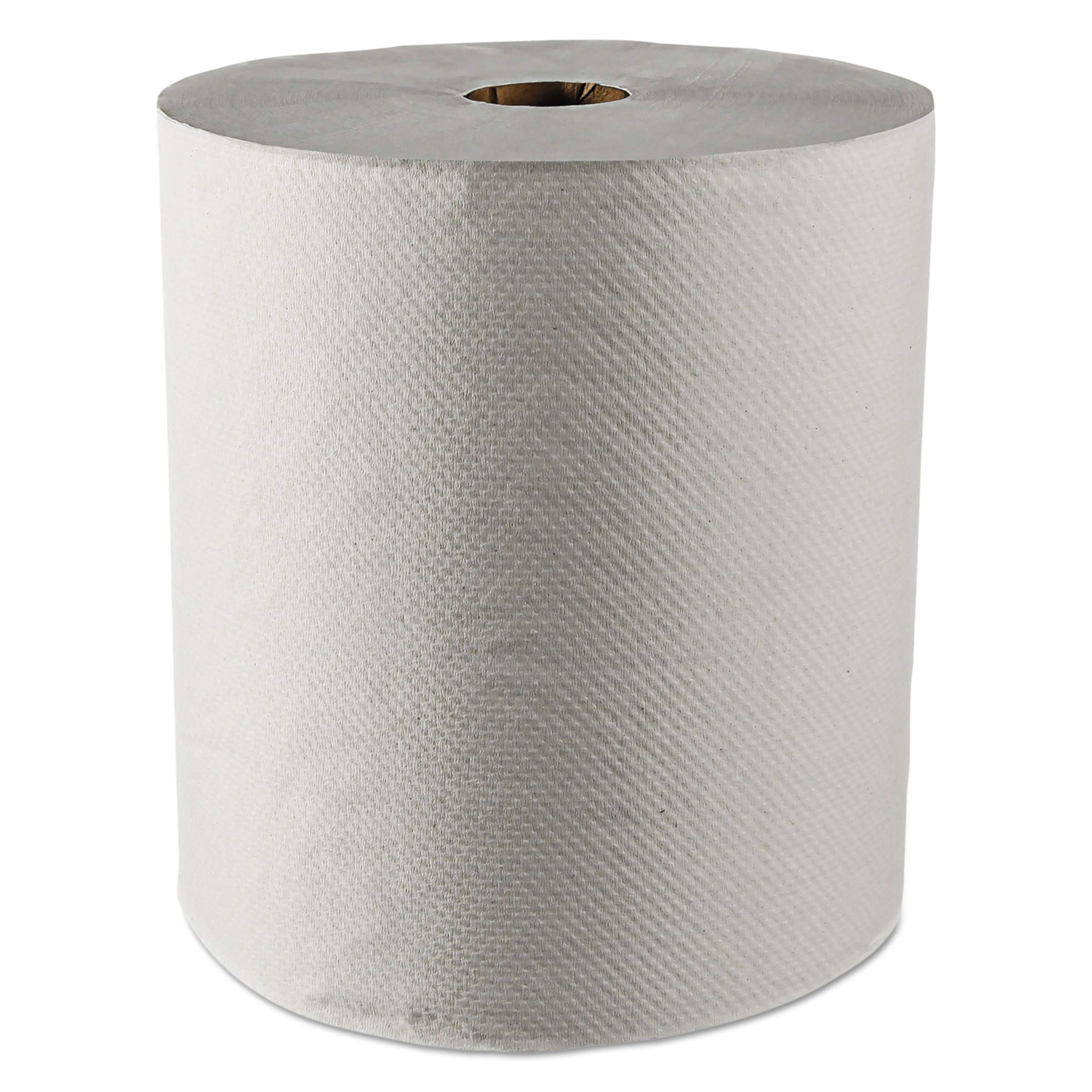 Scott 01052 Hard Roll Towels, 100% Recycled, 1.5'' Core, White, 8'' x 800ft (Case of 12 Rolls)