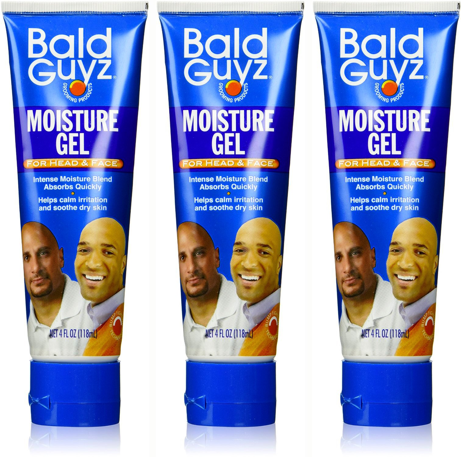 Bald Guyz Moisture Gel, 4 fl oz (Pack of 3)