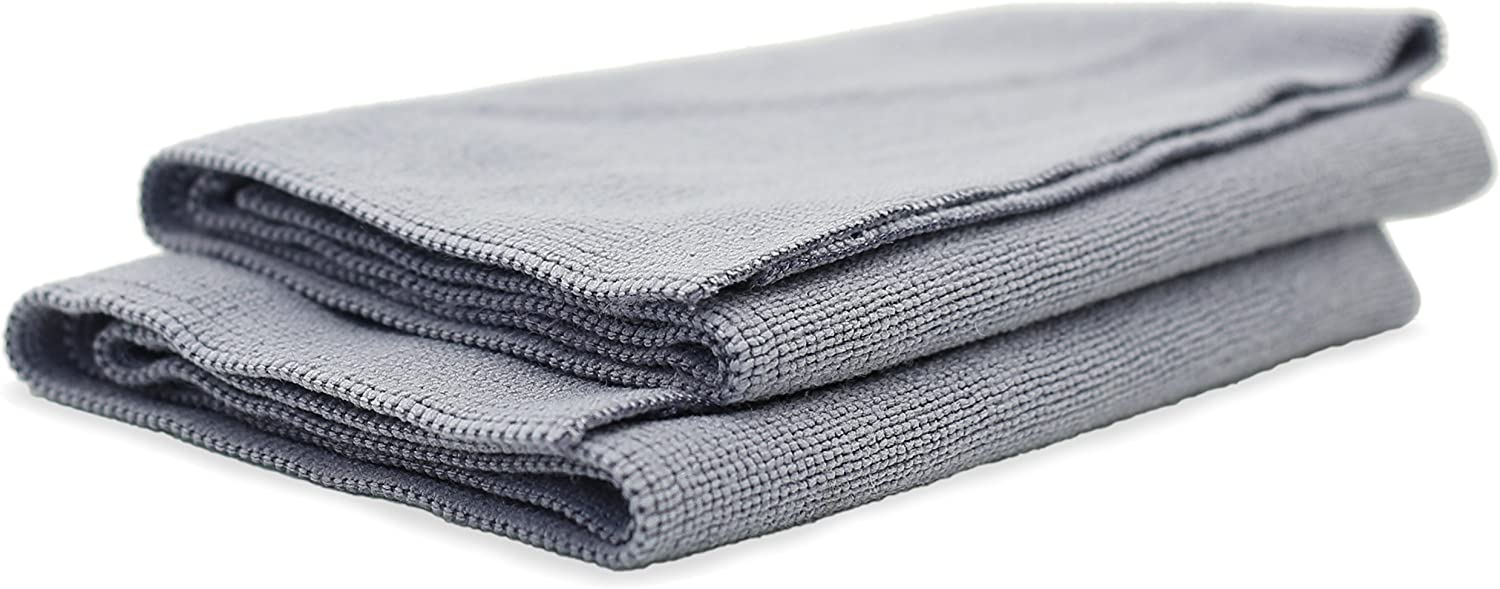 Great All Purpose Detailing Towel Adams Edgeless Microfiber Utility Towel 4 Pack Edgeless Microfiber Design with Tight Weave Fibers