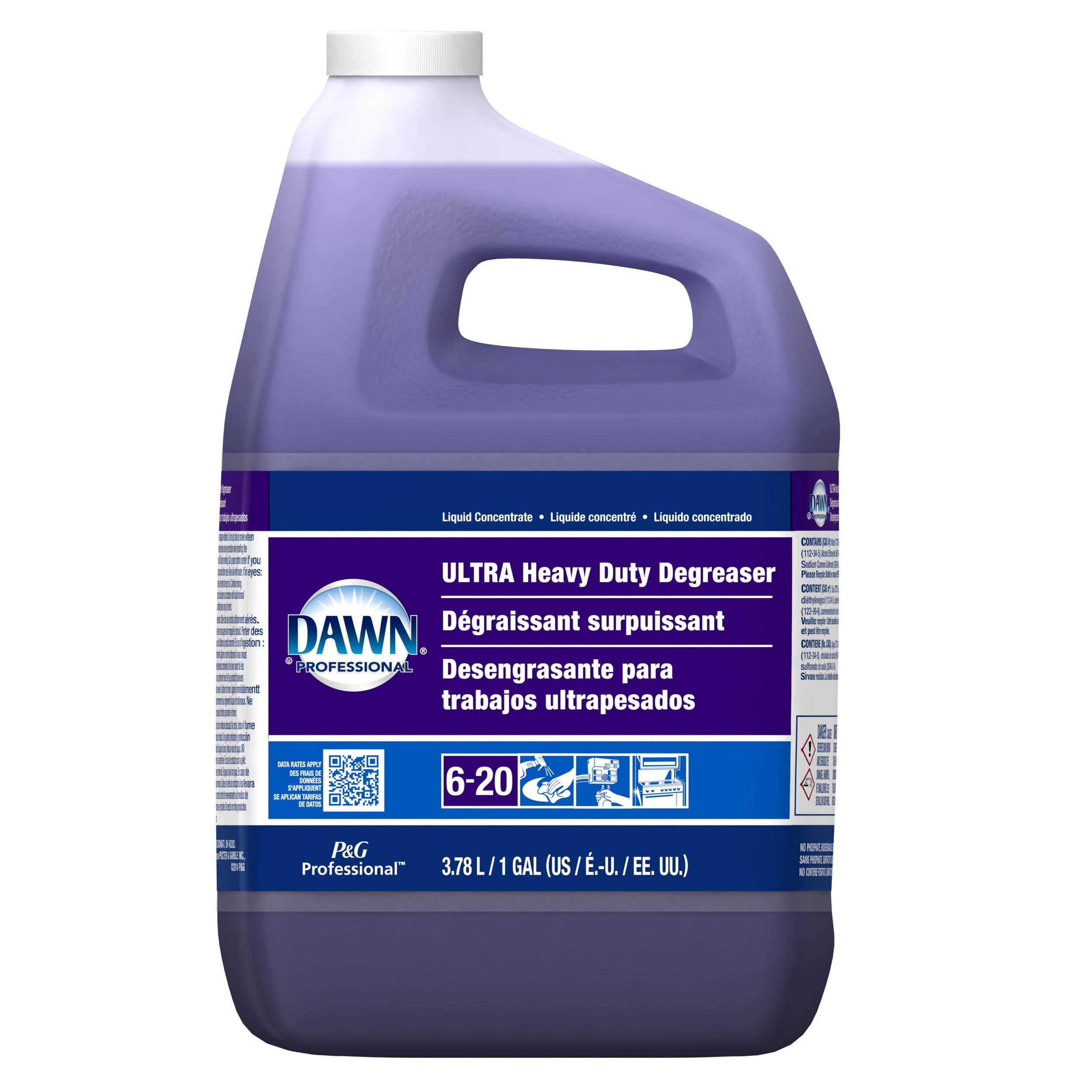 Dawn Ultra Heavy Duty Closed Loop Degreaser Concentrate, 1 Gallon - 2 per case. by Dawn
