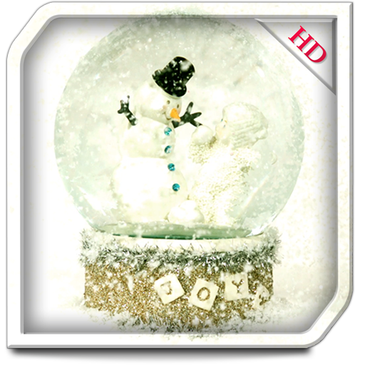 Snow Globe HD for TV - Decor your screen with beautiful winter theme (Television Snow Globe)