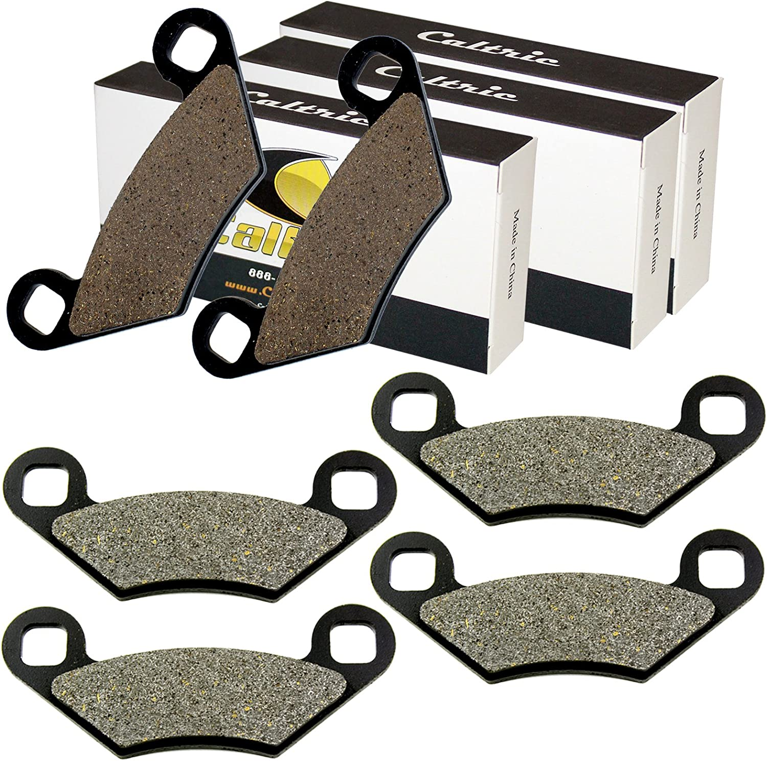 Front Rear Brake Pads For Polaris Sportsman 300 4X4 2008 2009 2010