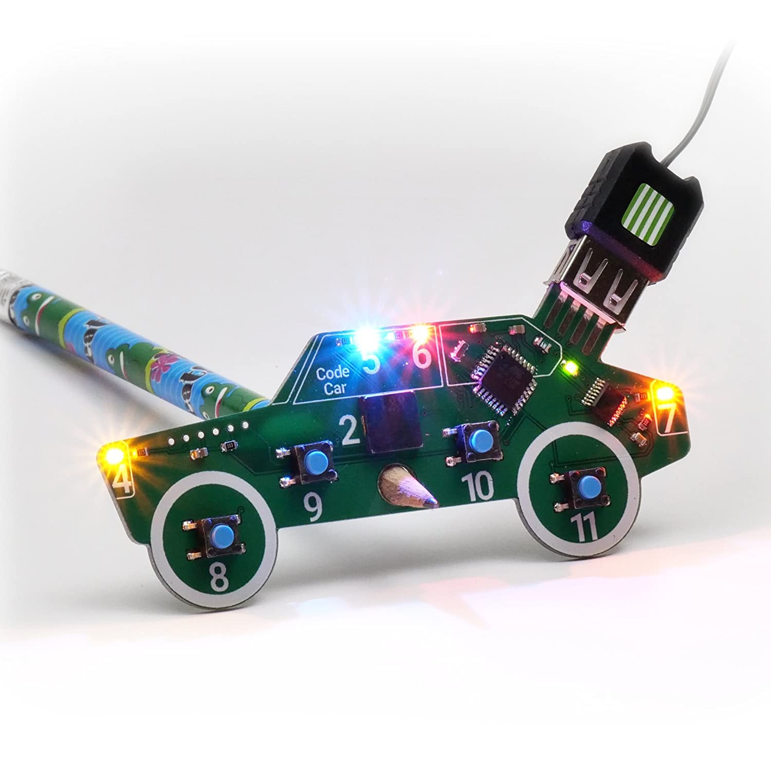 Amazon Code Car Toy Kids Age 8 12 Learn puter Coding the