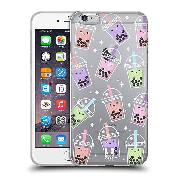 amazon com head case designs pattern bubble tea soft gel case for