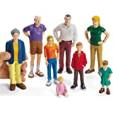 Lakeshore Pretend and Play People - 8-Piece Caucasian Family