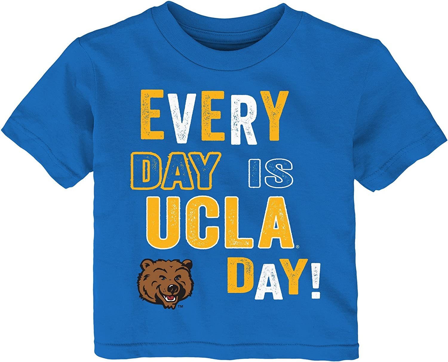 18 Months Outerstuff NCAA Bruins Infant Primary Logo Short Sleeve Tee Strong Blue