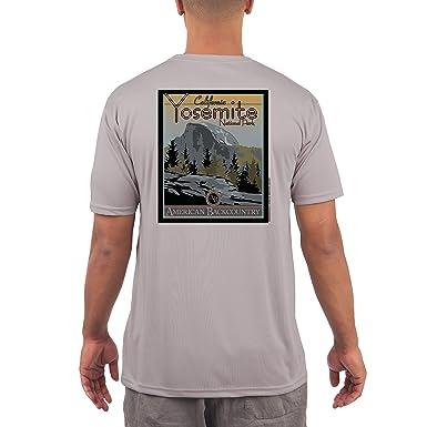 Yosemite National Park Mens UPF 50+ Short Sleeve T-shirt X-Small Athletic