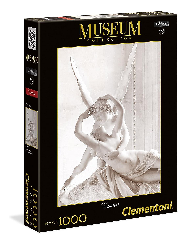 Clementoni - 39432 - Museum Collection - Canova: Amor et Psyché- 1000Pièces