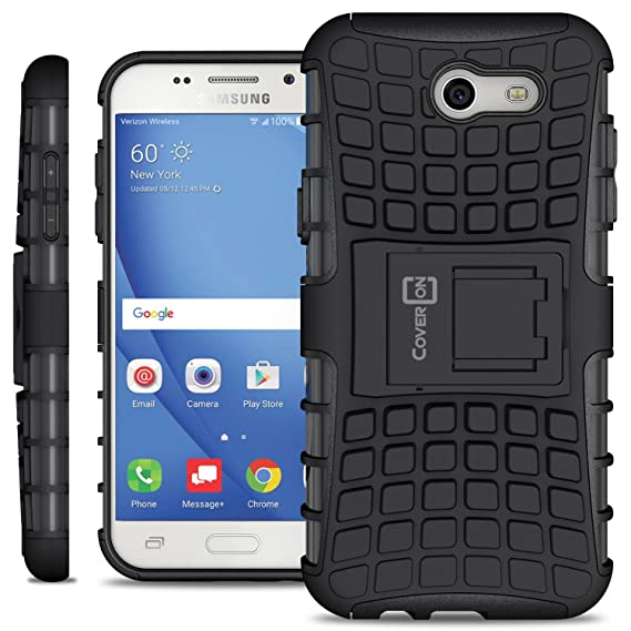 huge discount 827b3 1f879 Galaxy Express Prime 2 Case, Galaxy Sol 2 Case, Galaxy J3 Eclipse Case,  Galaxy J3 Luna Pro Case, Galaxy J3 Mission Case, CoverON Atomic Series  Hybrid ...