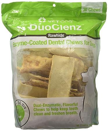 Amazon.com: Masticables dentales para perros grandes con ...
