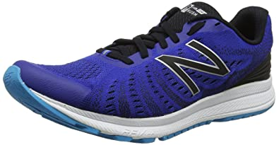 Flash V2, Running Homme, Bleu (Blue/Black), 42.5 EUNew Balance