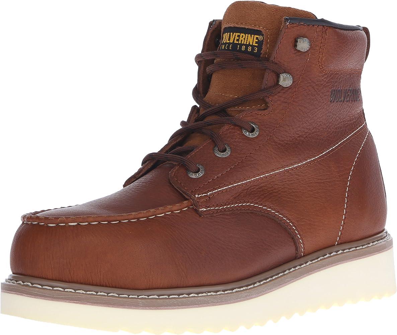 W08289 Wolverine Steel Toe Boot,Honey