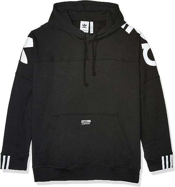 Adidas Originals Sweater Herren BG TREFOIL HOOD FM9909 Weiss