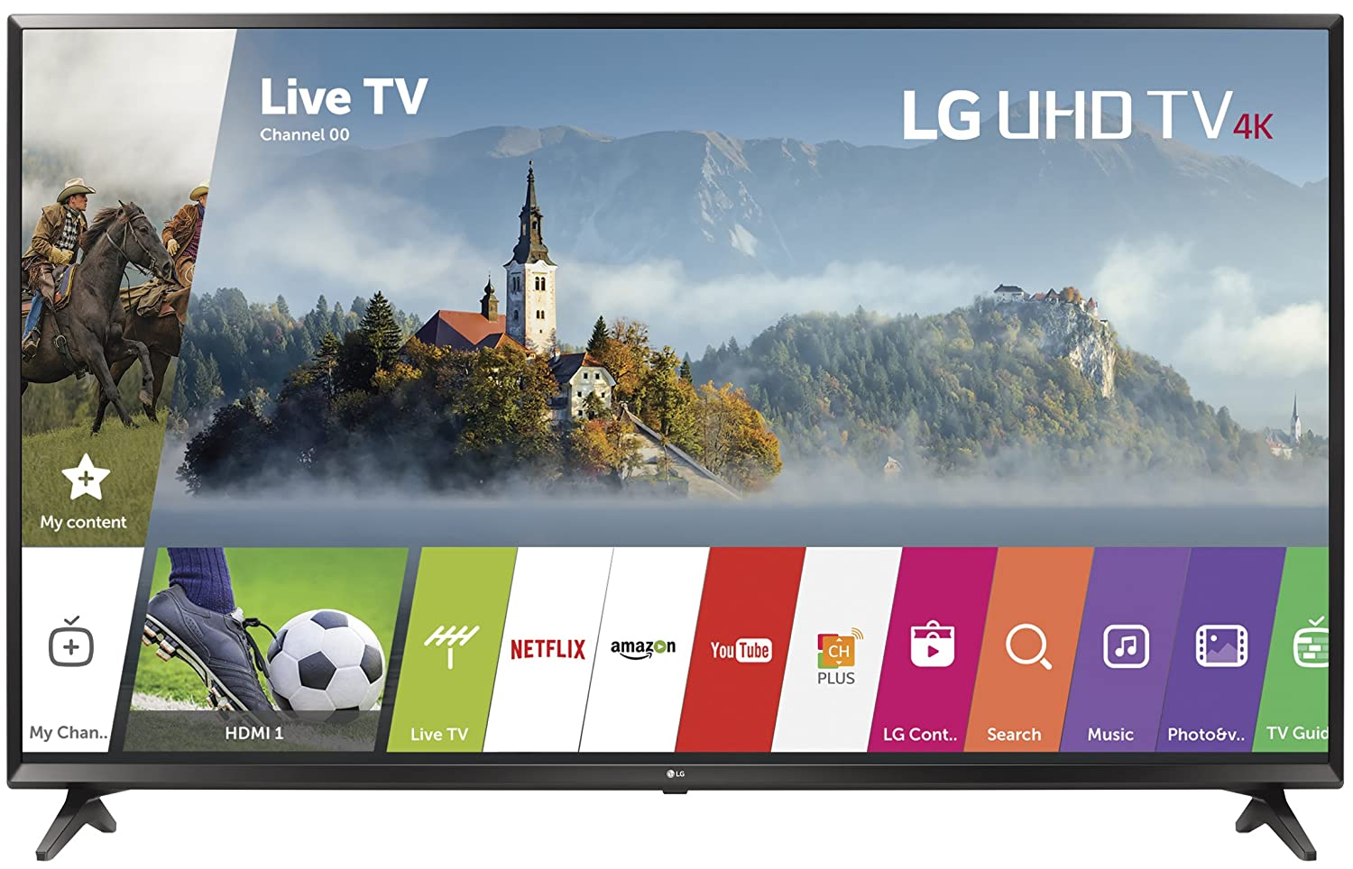 LG Electronics 55UJ6300-O 55-Inch 4K Black Friday deal 2020