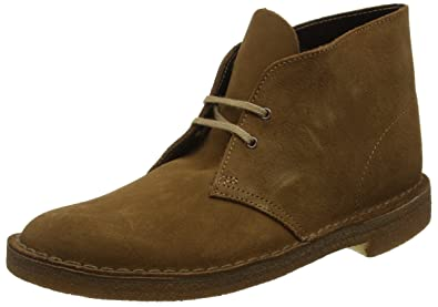 Details about Clarks Originals Desert Mens Suede Leather Brown Boots UK Size 6 12