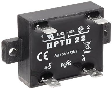[SCHEMATICS_48YU]  Opto 22 Z240D10 Z Model DC Control Solid State Relay, 240 VAC, 10 Amp:  Electronic Relays: Amazon.com: Industrial & Scientific | Opto 22 Ssr Wiring Diagram |  | Amazon.com