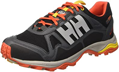 Helly Hansen Mens Pace Trail 2 HT Running Sneakers, Black HellyTech Fabric, ...