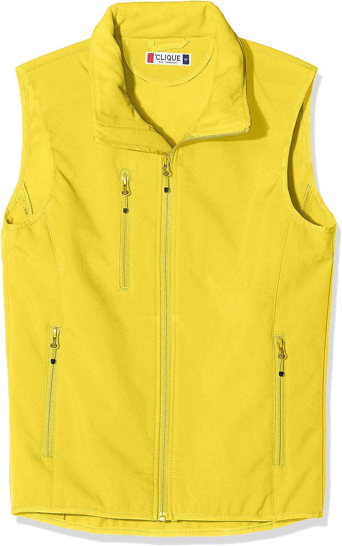 CliQue Mens Softshell Vest Gilet Outdoor