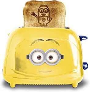 Uncanny Brands Minions Dave 2-Slice Toaster- Toast Iconic Minion on Your Toast