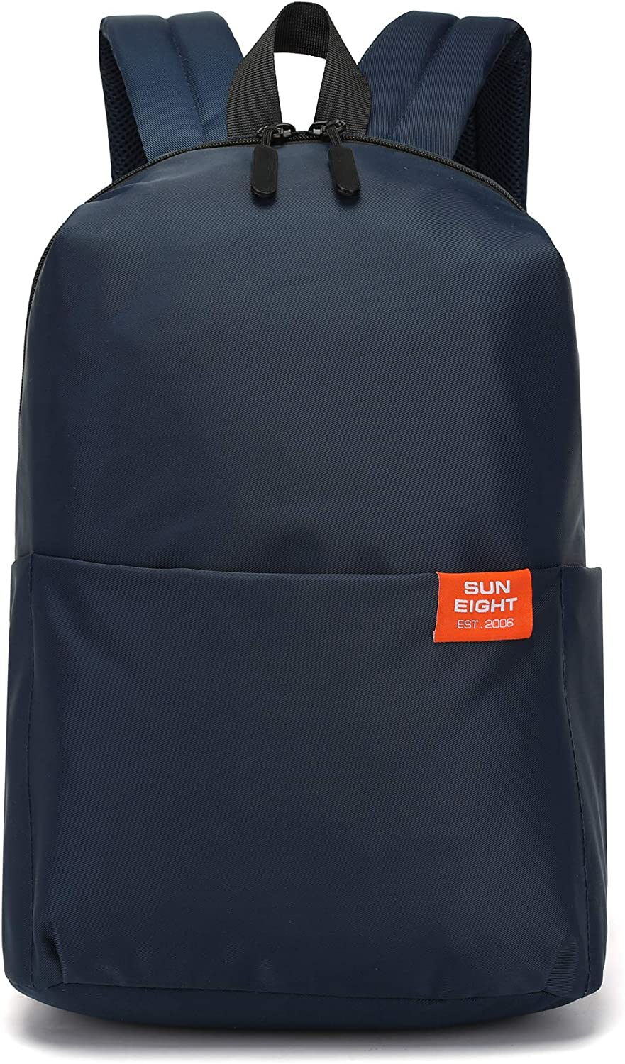 for School Laptop Bag Boys and Girls and Travel Summer Camp Casual Daypacks Blue1 SUN EIGHT Lightweight Backpack 15-17 Inc