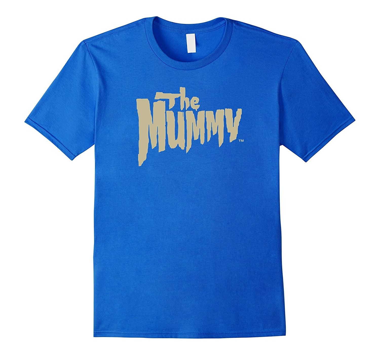 The Mummy Original T-shirt with Beige Font-mt