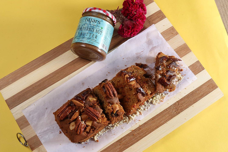 FITJARS Super Mix Nut Butter (almendras, nueces, nueces, dátiles medjool) -200g℮: Amazon.es: Alimentación y bebidas