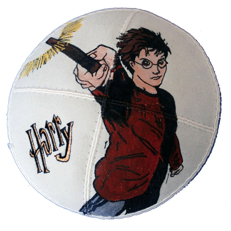 Hand-painted Kippah (Yarmulke) with Harry Potter - 2