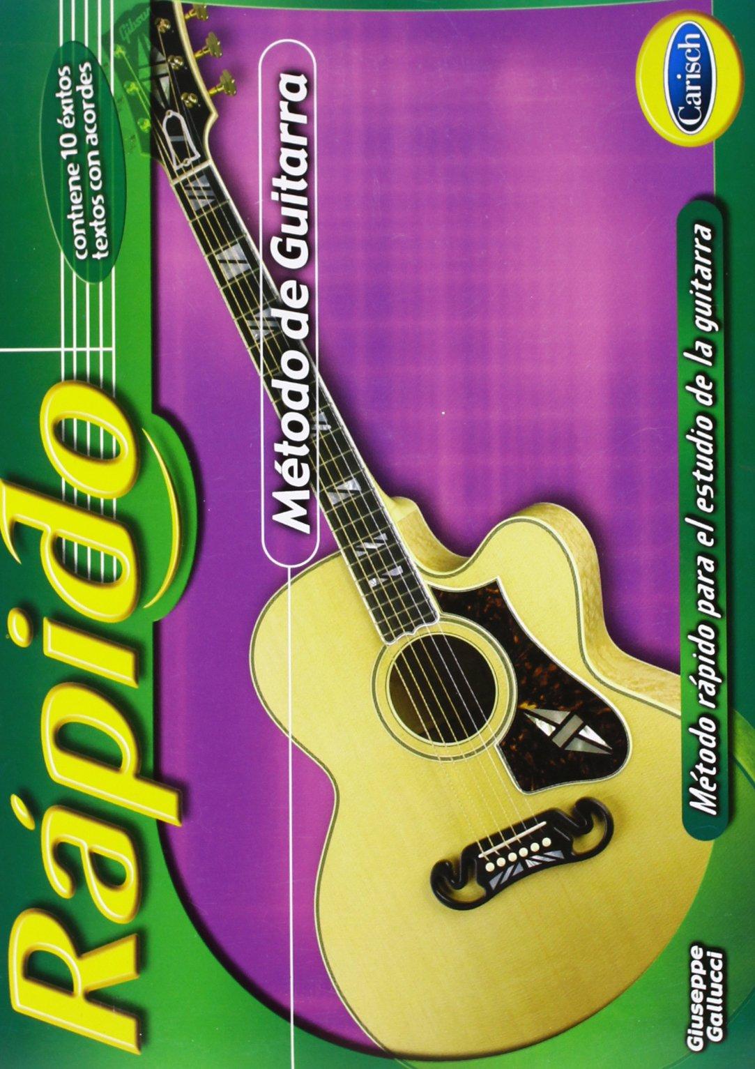 Rapido - Método de Guitarra: Amazon.es: Gallucci, Giuseppe, Guitar ...