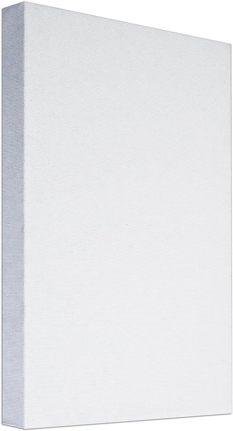 Arte & Arte 7154.0 - Marco con Lienzo para Pintores. Hecho de Madera de Abeto/algodón. Color Blanco. Dimensiones: 70 x 50 x 3.5 cm: Amazon.es: Hogar