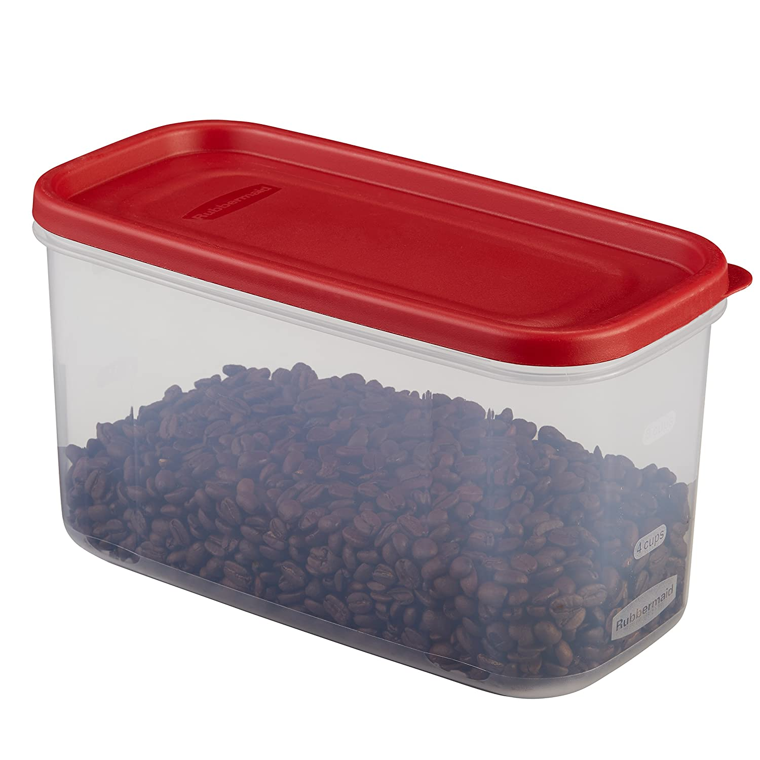 Rubbermaid Modular Food Storage Container, 10 Cup, Racer Red 1776471