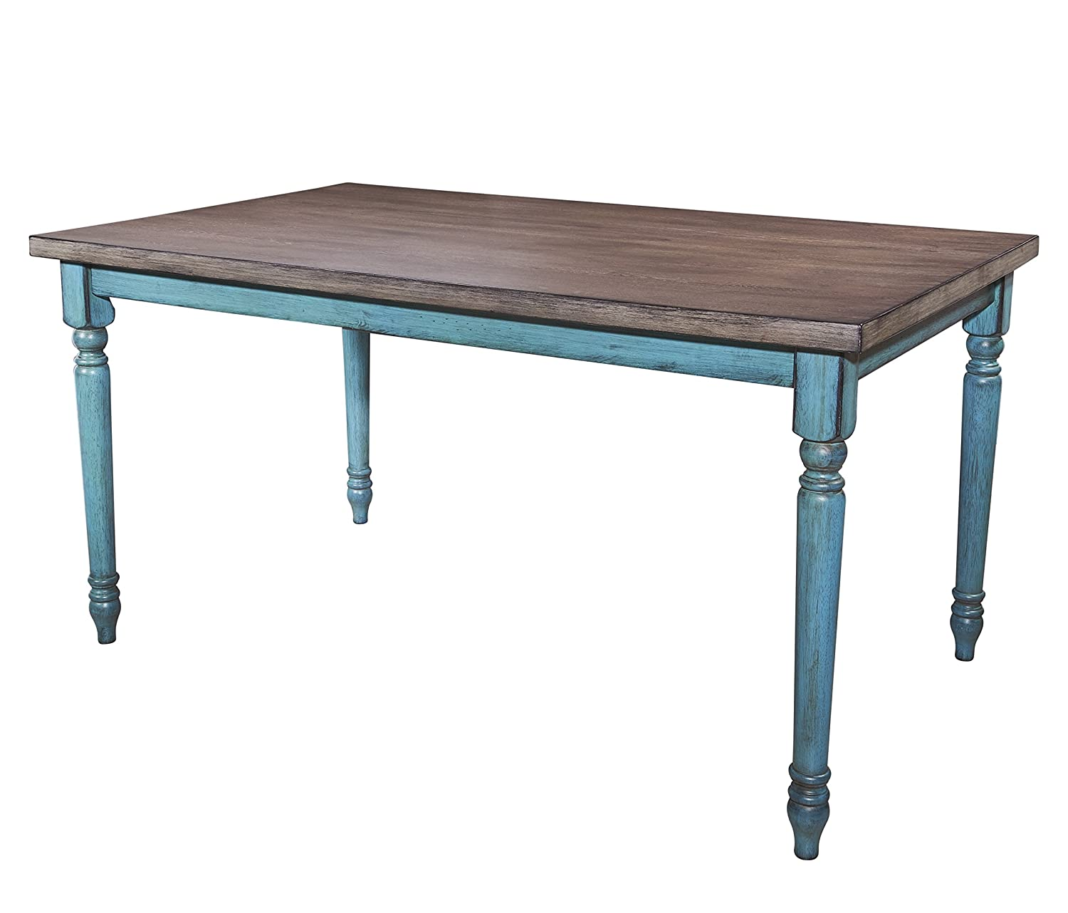 Powell Furniture 16D8214DT Willow Dining Table, Multicolor