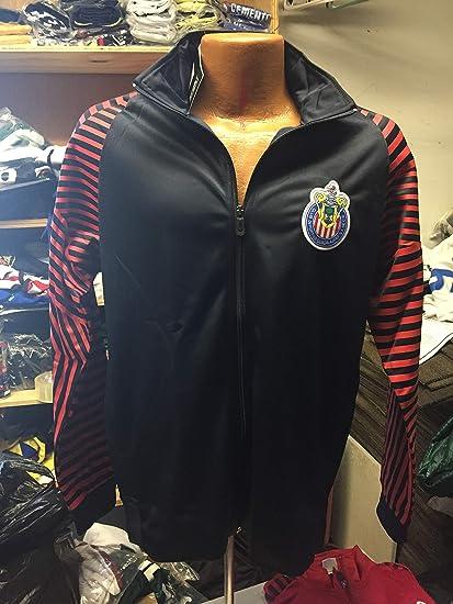 641318603bc New! Club Deportivo Guadalajara Chivas Zipper Down Track Jacket-Home Red  (Small)