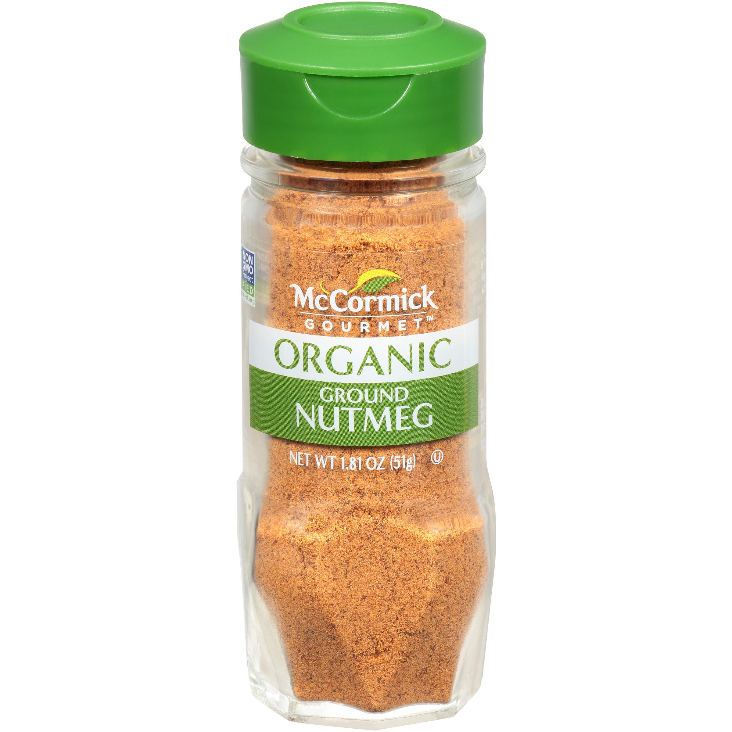 McCormick Gourmet, Ground Nutmeg, 1.81 oz