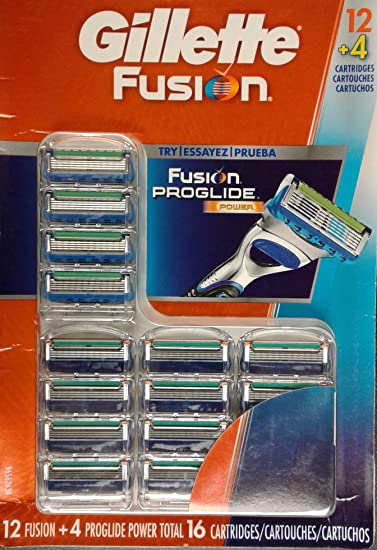 Manual de Fusion Proglide Power blades – Recambio cuchilla de repuesto cartuchos 16 ct (12 + 4): Amazon.es: Salud y cuidado personal