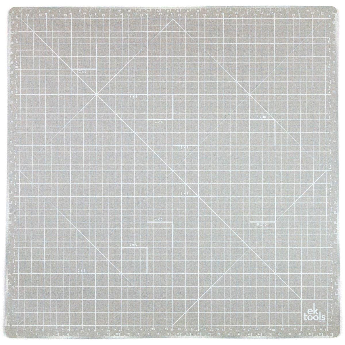 EK Tools Base Autocicatrizante, Vinilo, Gris, 3.00x33.32x35.53 cm 54-06004