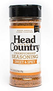 product image for Head Country Bar-B-Q Championship Seasoning, Sweet & Spicy, 6 Ounce