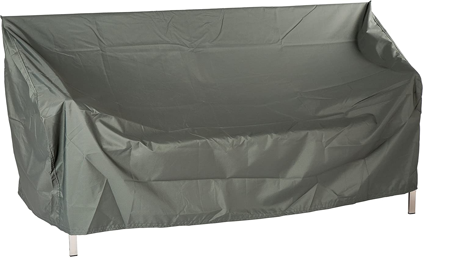 Star Protective Cover for Garden Furniture, 2-Seater Bench Plain Grey, 150x 55x 80cm, 1.3ml, 454804 Stern GmbH