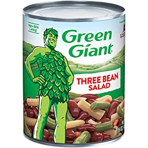 Green Giant Three Bean Salad, 15 Ounce Can (Pack of 12)