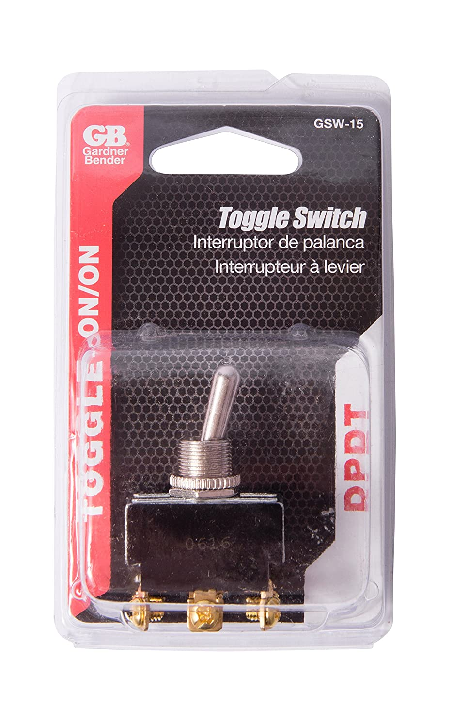 Gardner Bender Gsw 15 Heavy Duty Electrical Toggle Switches Switch 20 Amp Screw Terminal Spst Onoff Dpst Mom On A 125v Ac Home Improvement