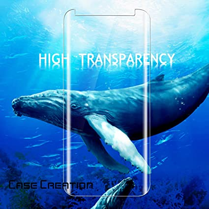 For Samsung S8 Screen Protector Case Creation Tm Amazon In