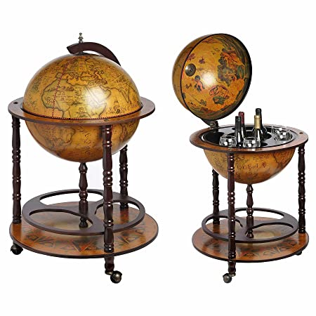 Excellent Hill Interiors Globe Design Drinks Cabinet One Size Tan Home Interior And Landscaping Eliaenasavecom
