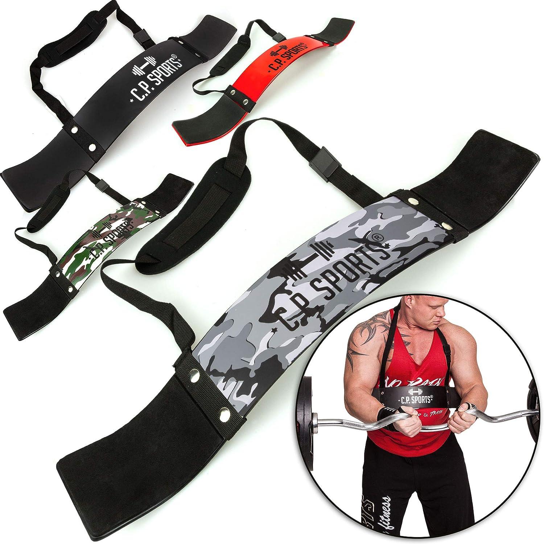 Bizepstrainer Trizeps Bomber Sports Arm Blaster Bizeps Isolator f/ür Bodybuilding Kraftsport /& Gewichtheben C.P