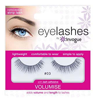86b5488639c Invogue Eyelash Volumise #3: Amazon.co.uk: Beauty