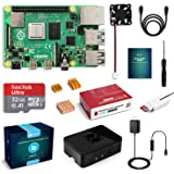 LABISTS Raspberry Pi 4 Model B 4GB RAM ラズベリーパイ 3 b+MicroSDHCカード32G/NOOBSシステムプリインストール/カードリーダ /5.1V/3A Type-C スイッチ付電源/MicroHDMI-to-HDMIケーブルライン/三つヒートシンク/簡単に取り付けケース/日本語取扱説明書/24ヶ月保証