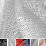 netzfutter innenfutter bekleidungsfutter mesh stoff meterware 100 polyester. Black Bedroom Furniture Sets. Home Design Ideas