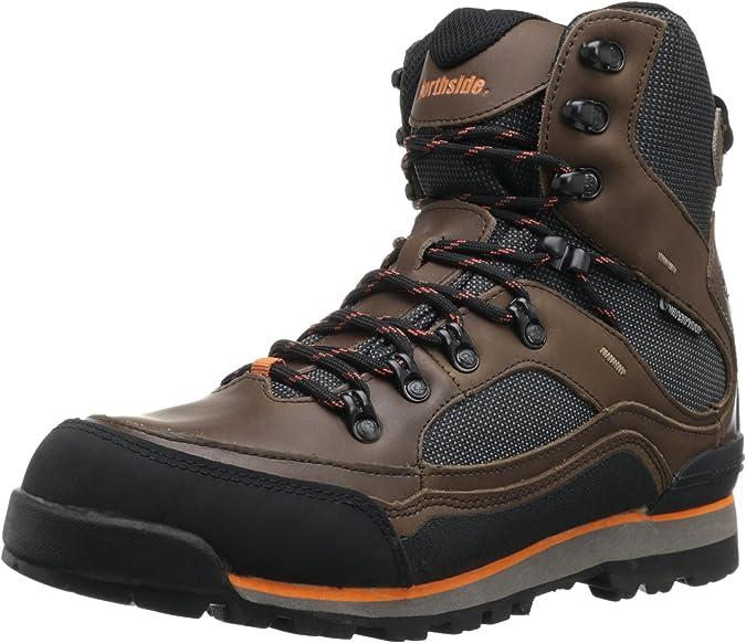 Northside Men's Base Camp Hiking Boot,Dark Brown,11.5 M US