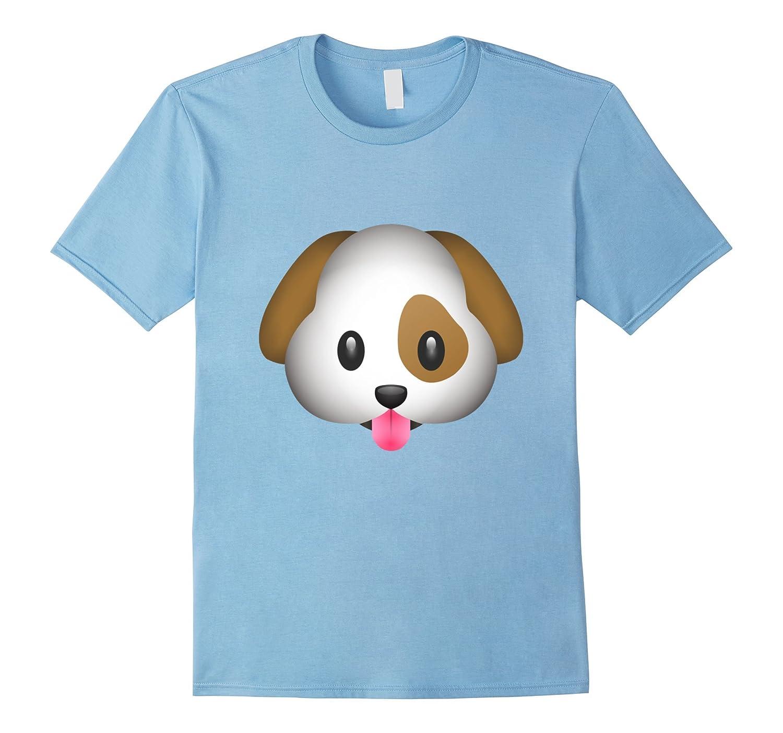 Dog Puppy Emoji T Shirt-CL