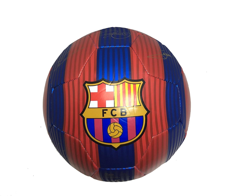 Balón Pelota de fútbol FCB Barcelona con Firmas Jugadores 2017 ...