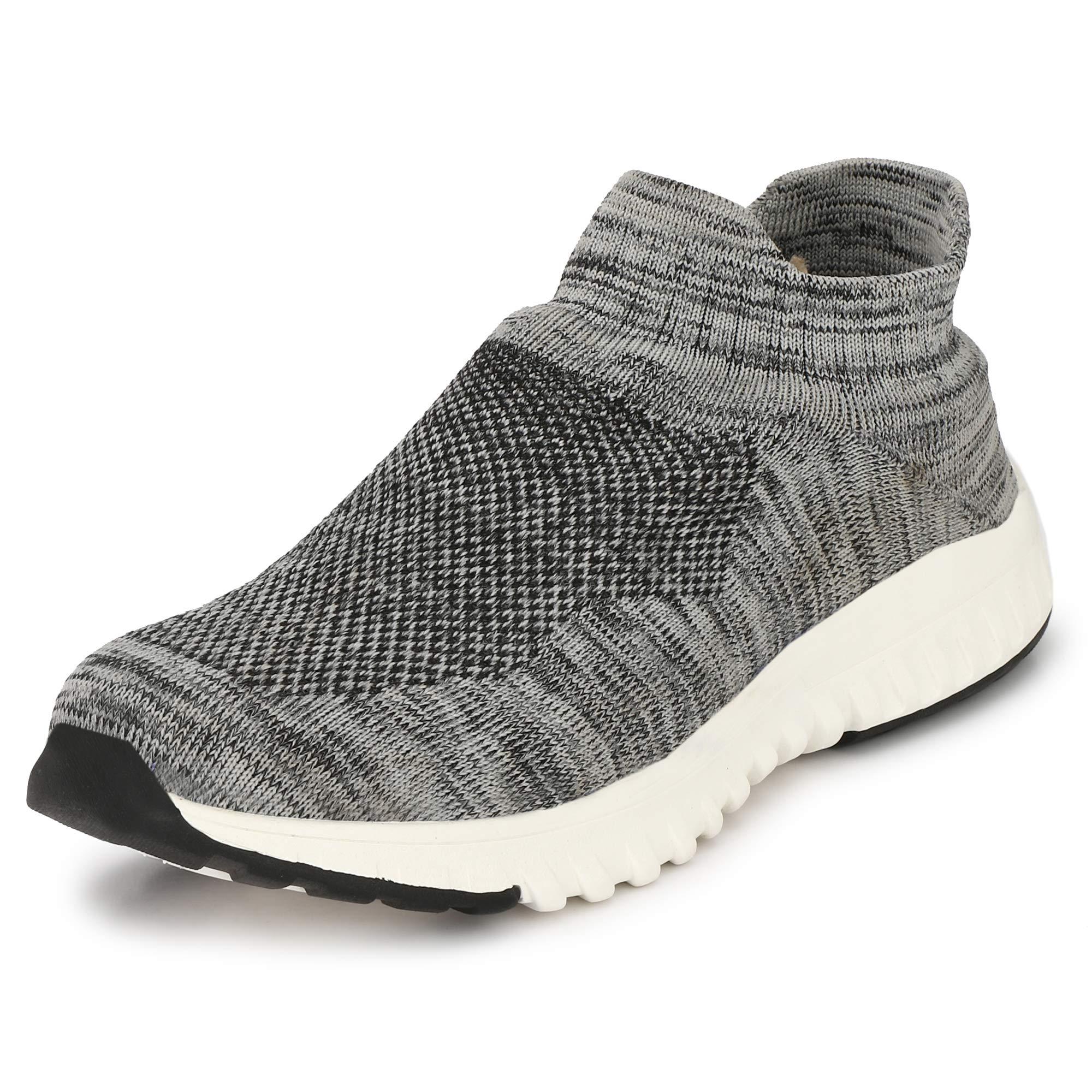 WOODBAY Mens Grey AIRMIX Running Shoes (9, Grey) (B07TYPT7Z4) Amazon Price History, Amazon Price Tracker